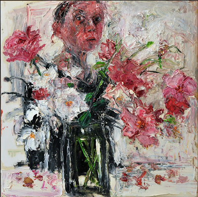 Roses in a Glass Jar (2017), Shani Rhys James