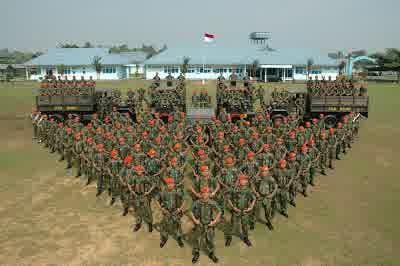 gambar Korps PasKhas TNI Angkatan Udara Indonesia