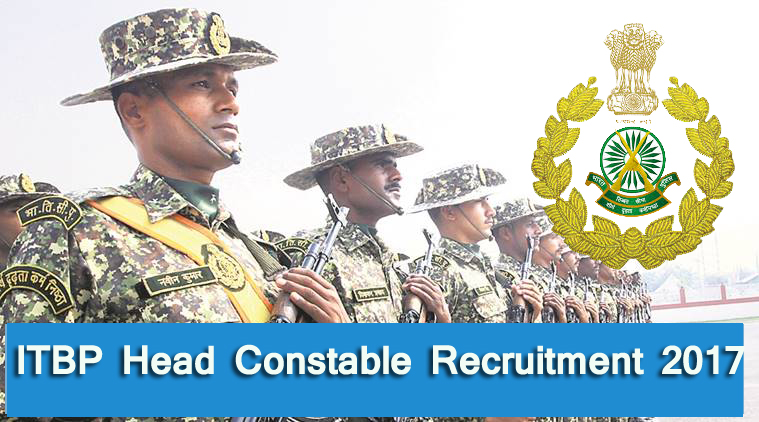 Itbp Head Constable Online Form 2017: Recruitment Of Head Constable In ITBP 2017
