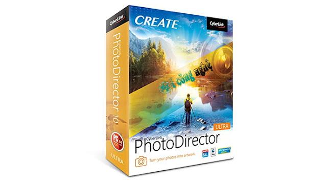 تحميل برنامج تعديل الصور CyberLink PhotoDirector Ultra 12