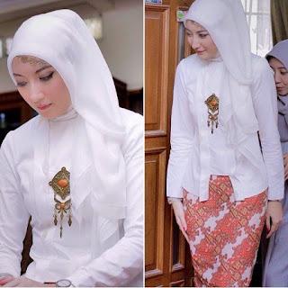 Inspirasi Kebaya Batik Indonesia Hijab