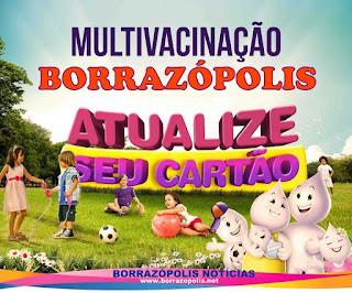 Resultado de imagem para borrazopolis vacinaçao
