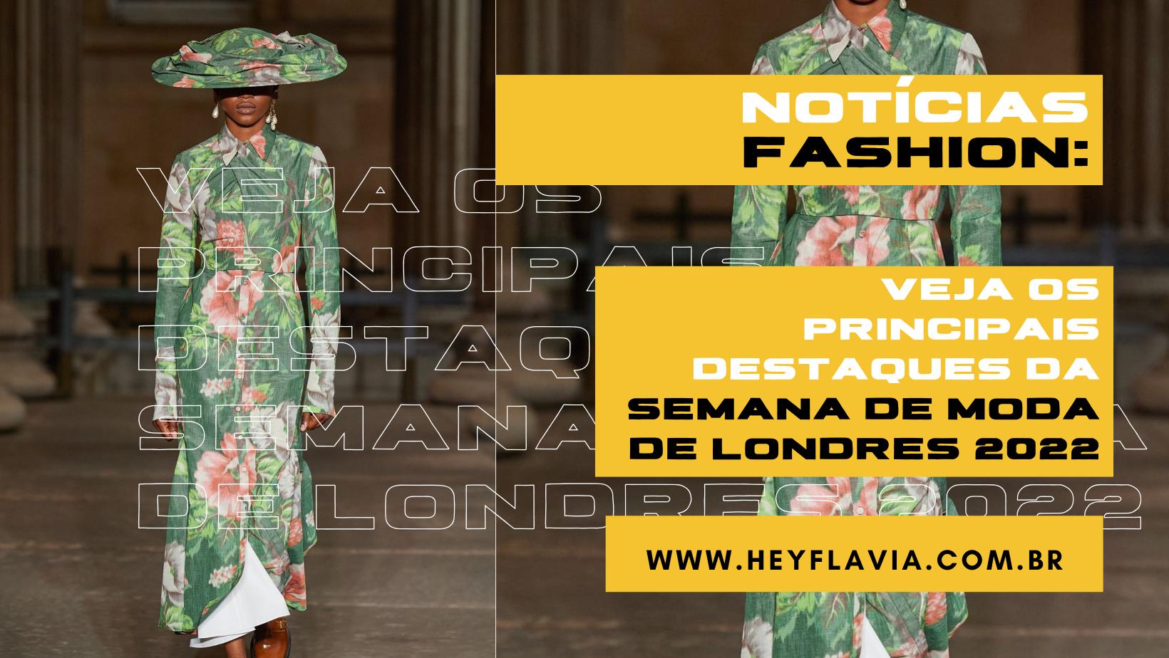 Semana de moda de Londres 2022