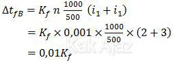 Penurunan titik beku yang terdiri dari NaBr dan Na2SO4
