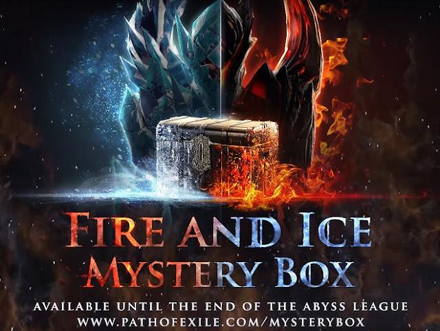 Cajas Misteriosas de Hielo y Fuego Path of exile