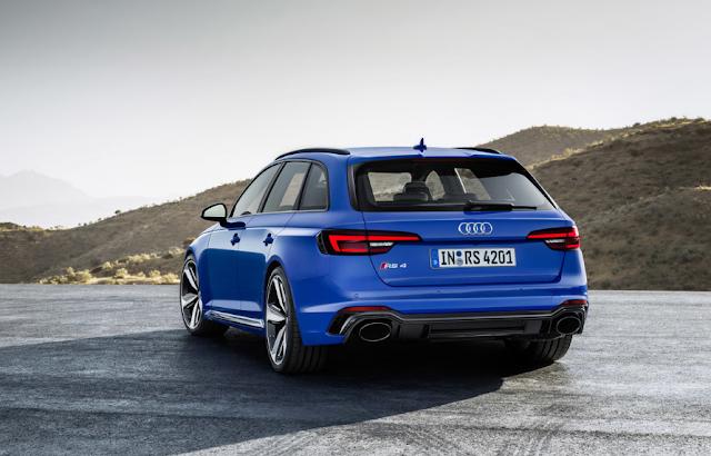 2018 Audi RS 4 Avant Biturbo 450 hp
