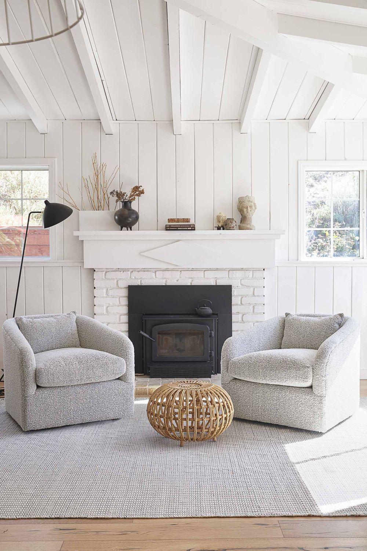 Trending: Swivel Chairs For The Living Room - Rambling Renovators