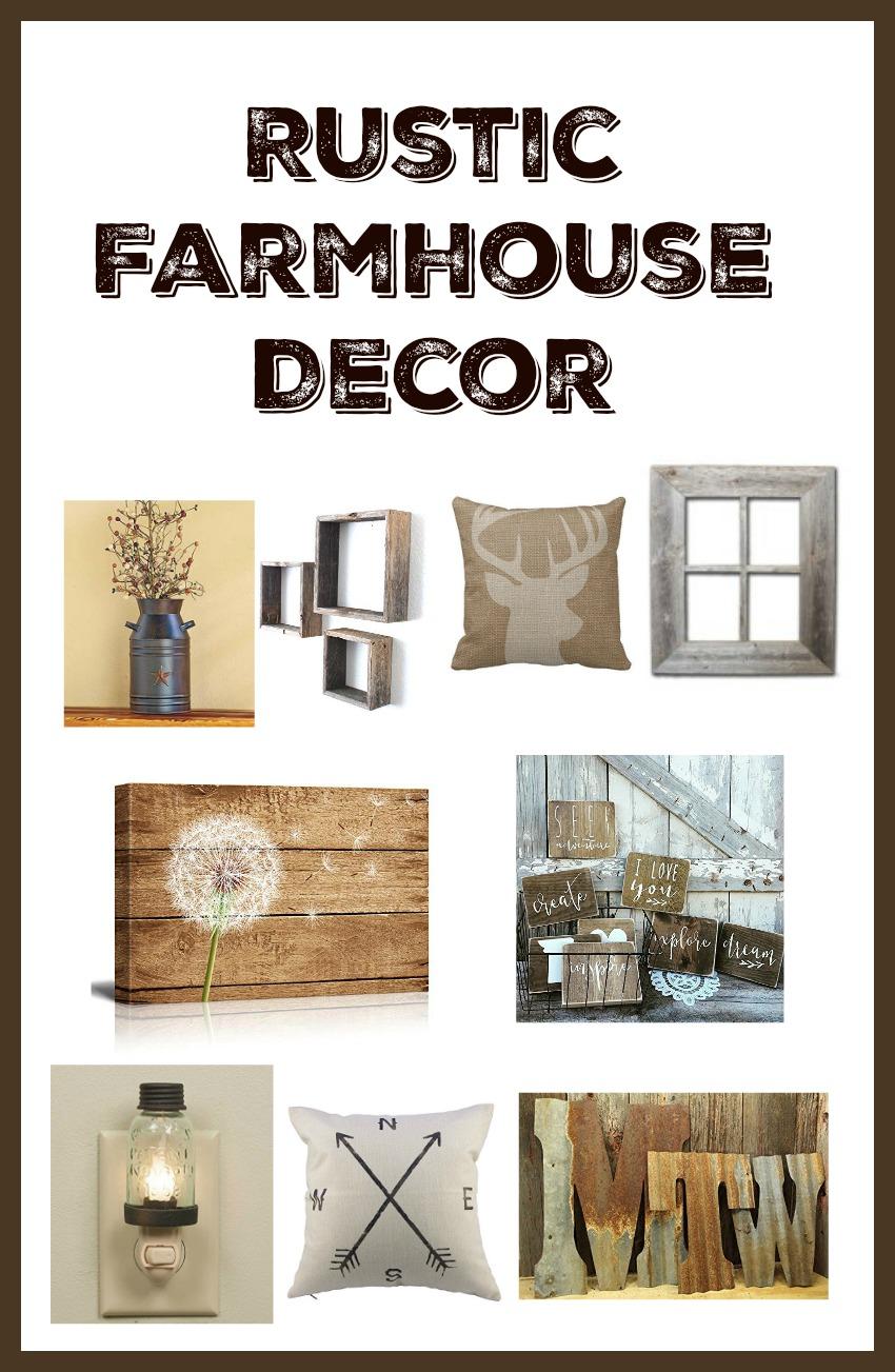 Rustic farmhouse decor 28 images 8 beautiful rustic for Best home decor amazon