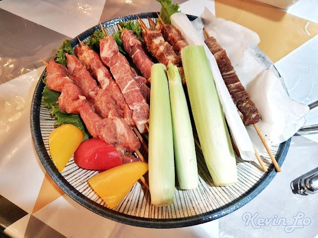 拉波波村營區蔬菜烤肉串拼盤