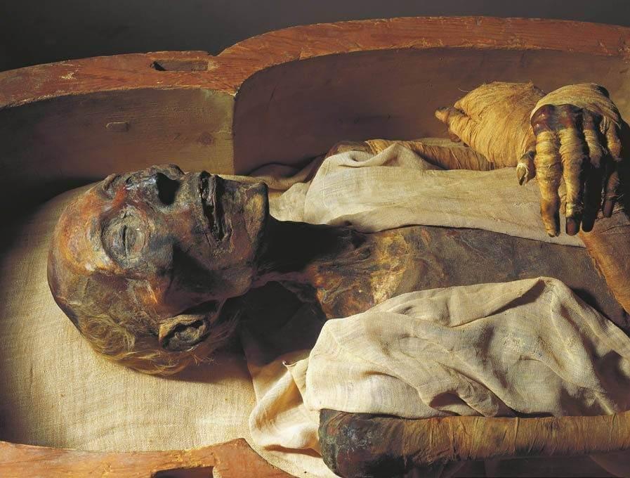 Mumia Firaun Ramses II