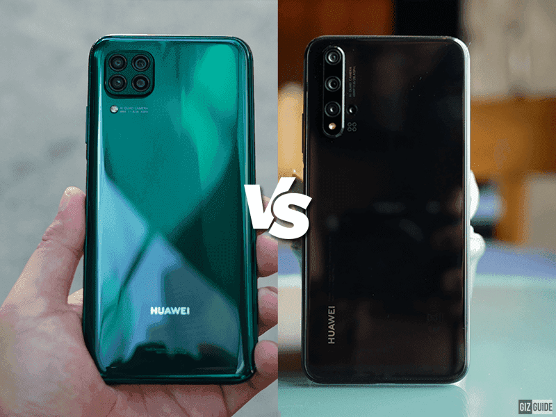Huawei Nova 7i vs Huawei Nova 5T Specs Comparison