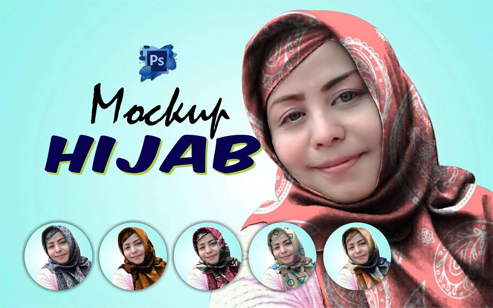 Desain Mockup Hijab Kekinian dengan Photoshop - TUTORiduan.com