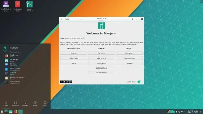 أفضل مبرمجي Linux Distros
