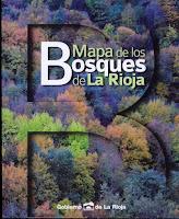 """Fernández Aldana, Rafael y VV.AA., """"Mapa de los bosques de La Rioja"""", Gobierno de La Rioja, 2015.  ISBN : 978 84 8125 677 2."""