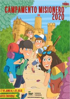 Obras misionales Potinficias España, infancia misionera, Castillo de Javier, Navarra