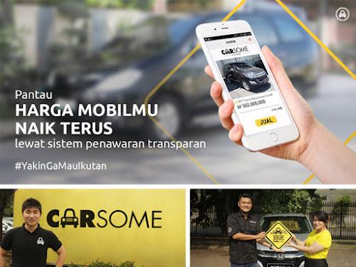Aplikasi Carsome Jual Mobil