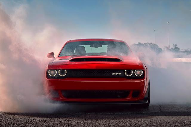 2018 Dodge Challenger SRT Demon - #Dodge #Challenger #SRT #Demon #tuning