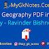 NCERT Indian Geography PDF in Hindi By - Ravinder Bishnoi