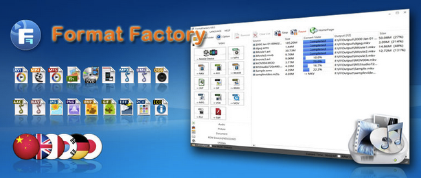 Download Format Factory 2018 Offline Installer