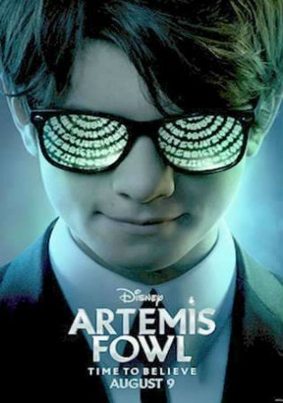 Artemis Fowl 2020 WEB-DL 800Mb English 720p ESub