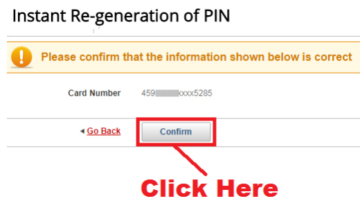 how to change kotak debit card pin online