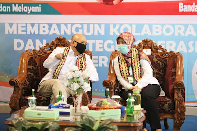 Teten Masduki Dorong Lampung Kembangkan Koperasi Pangan, Pemprov Siapkan Koperasi Produksi Berbasis Komoditas
