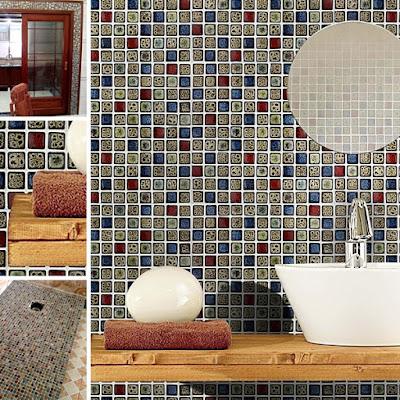 italian porcelain tile for bathroom backsplash