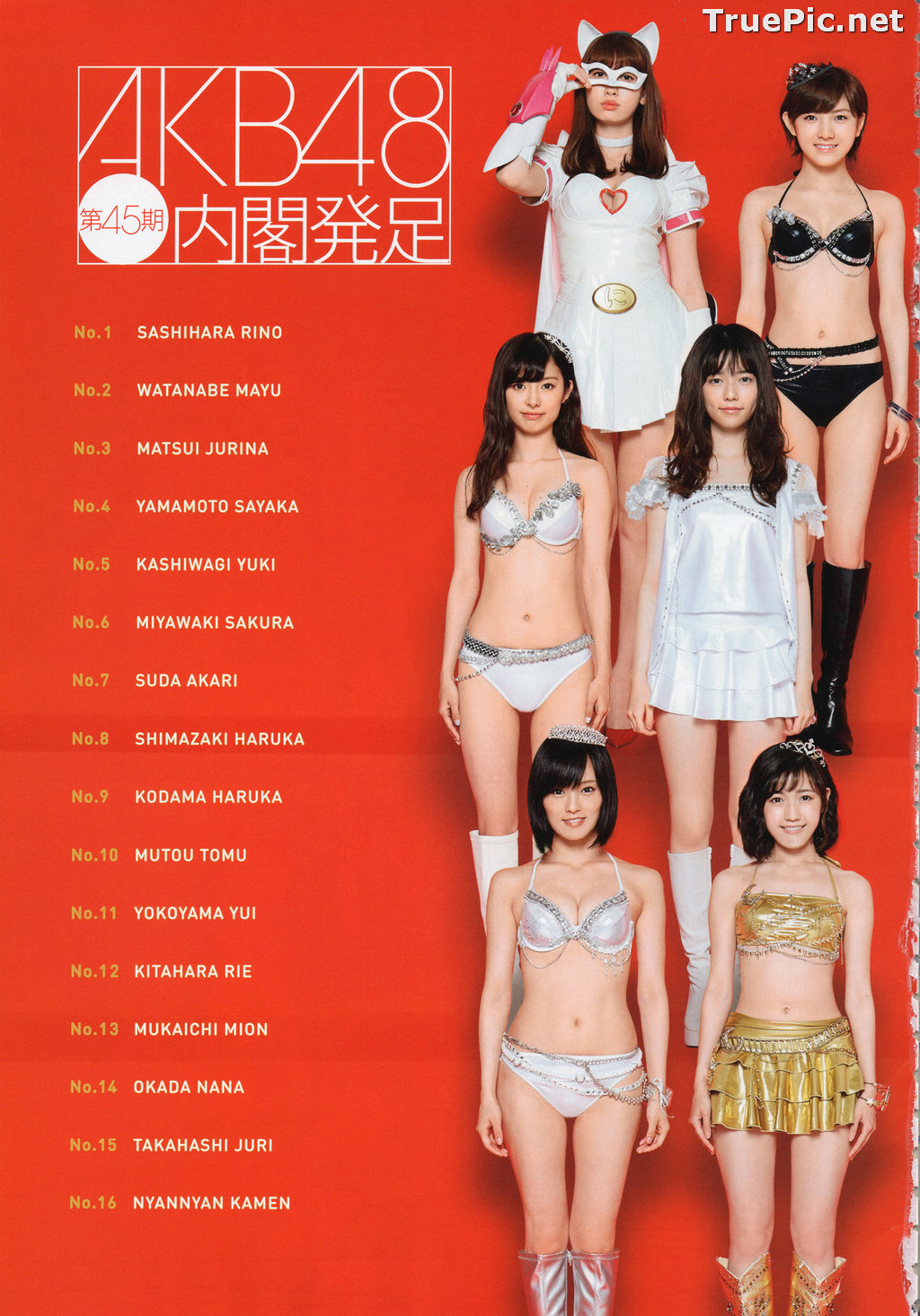Image AKB48 General Election! Swimsuit Surprise Announcement 2016 - TruePic.net - Picture-5