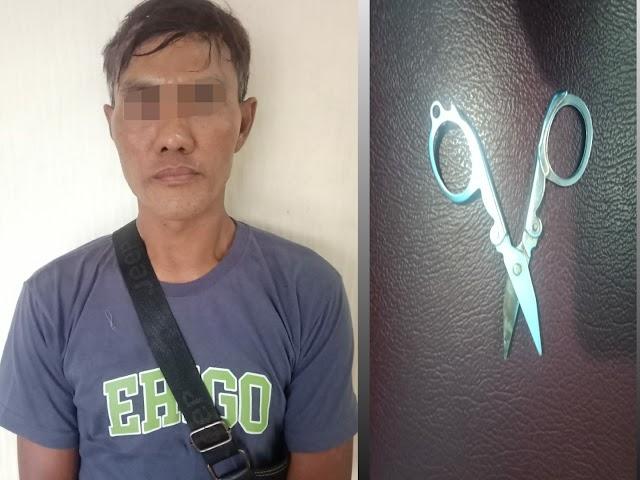 Tersandung Kasus KDRT, Suami Tusuk Istri di Kampung Baru Diciduk Polisi