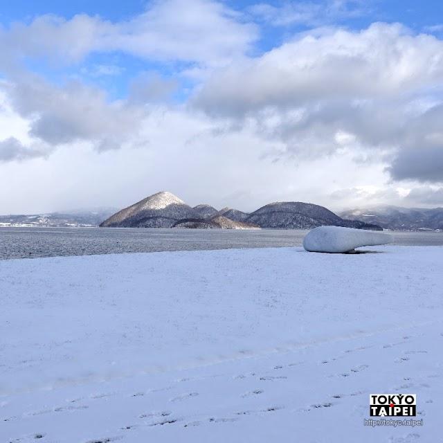 【洞爺湖周遊雕刻公園】把洞爺湖當舞台布景 58座雕刻散落在湖畔