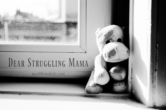 Next Life, NO Kids - Dear Struggling Mama #support