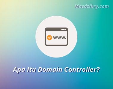 Pengertian domain controller