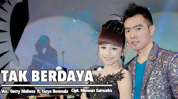 Lirik Lagu Tak Berdaya - Tasya Rosmala ft Gerry Mahesa