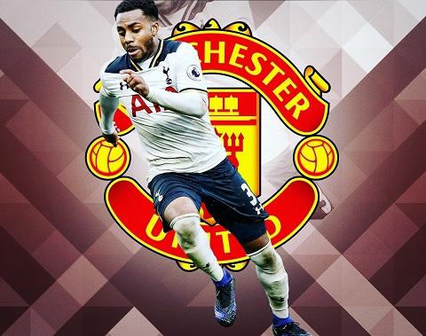 Manchester United quan tâm đến trường hợp của hậu vệ đang khoác áo Tottenham, Danny Rose