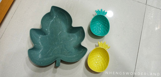 Leaf Plate and Pineapple Bowl - MR. D.I.Y.