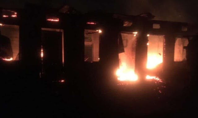 Family loses 3 children to midnight inferno in Ibadan.