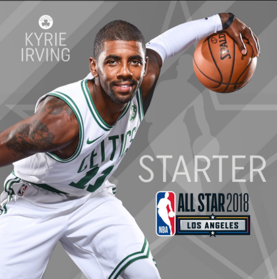 los angeles 10a77 e8409 Celtics Life: Kyrie Irving OUT vs. 76ers, IN as a starter in ...