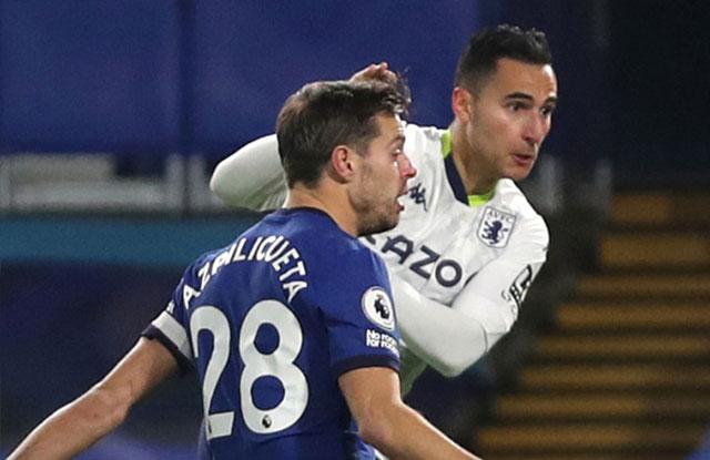 Anwar El Ghazi menyamakan kedudukan untuk Villa di Stamford Bridge
