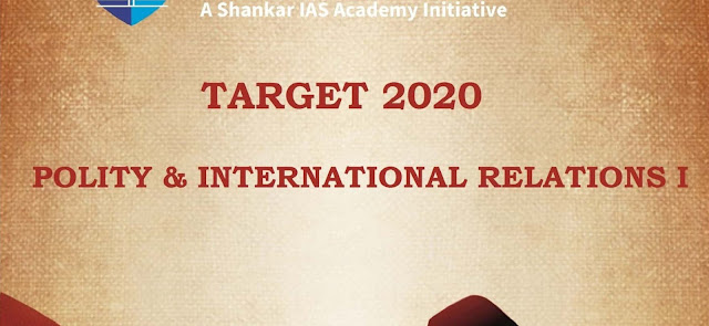 Target 2020 Polity & International Relations pdf