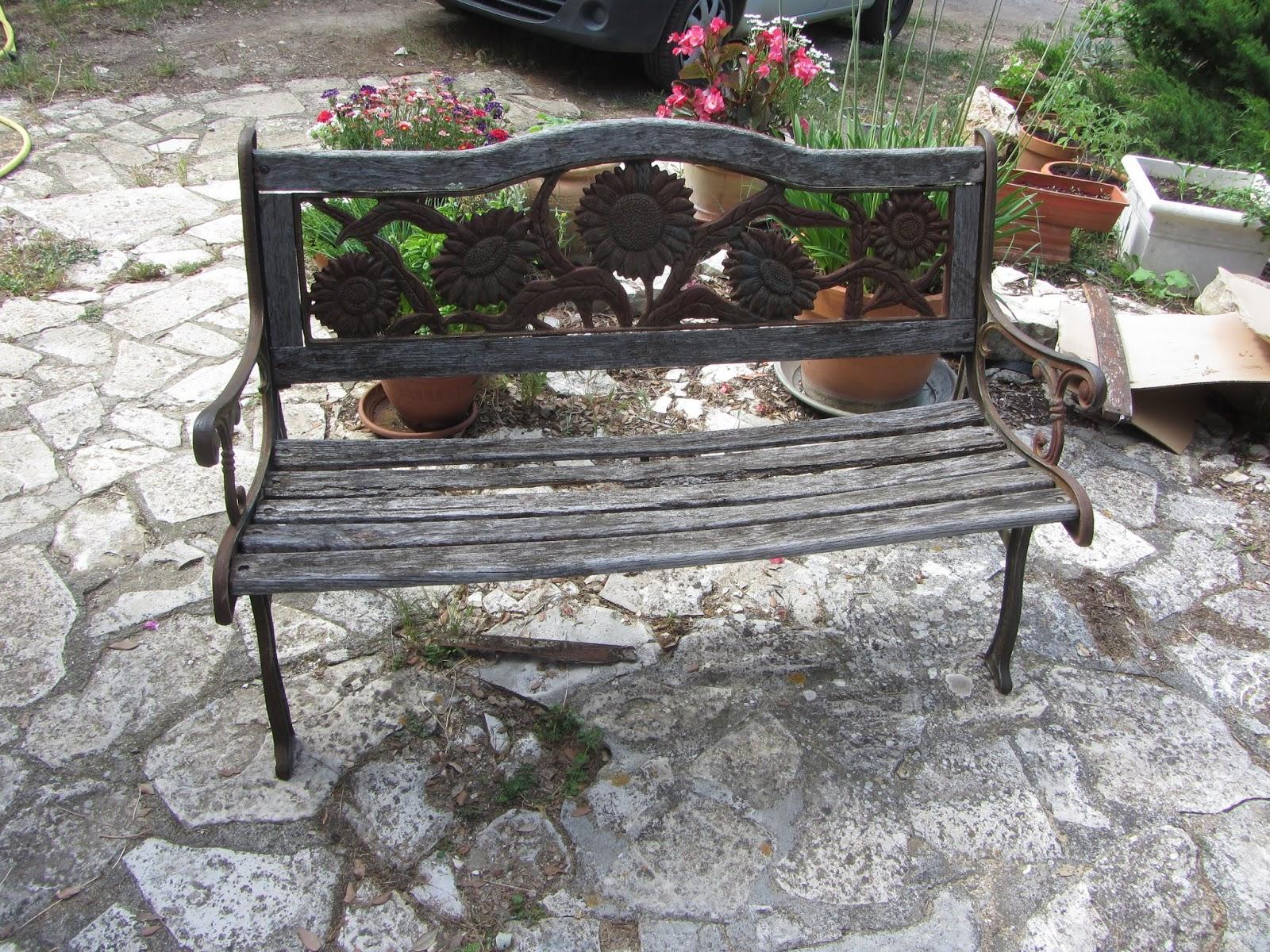 Vieux Banc De Jardin batirsamaison: rÉnovation d'un banc mobilier de jardin