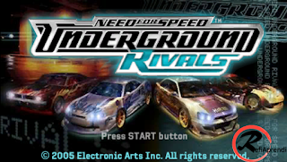 Need For Speed Underground Rivals PPSSPP (USA) ISO