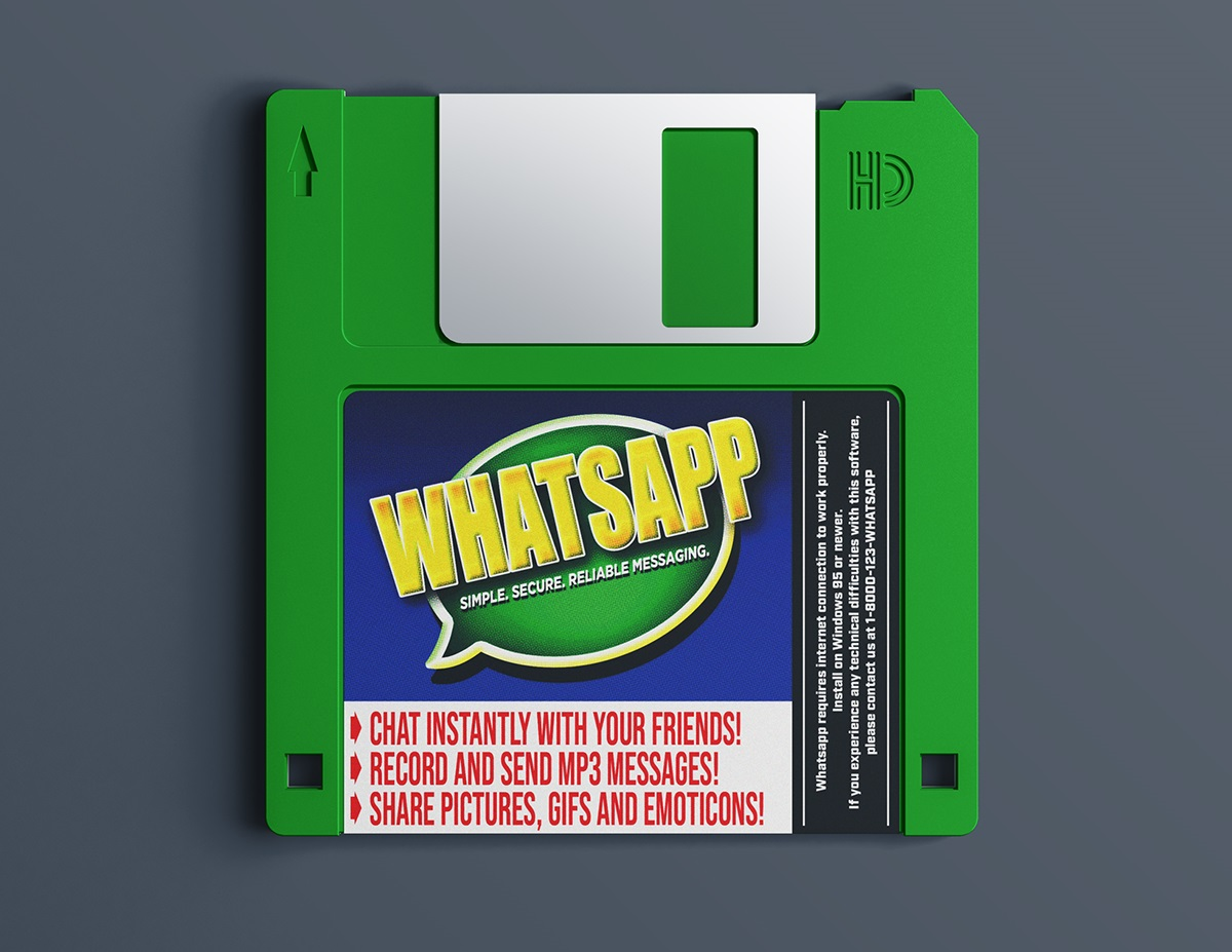 If Whatsapp Existed in the '90s