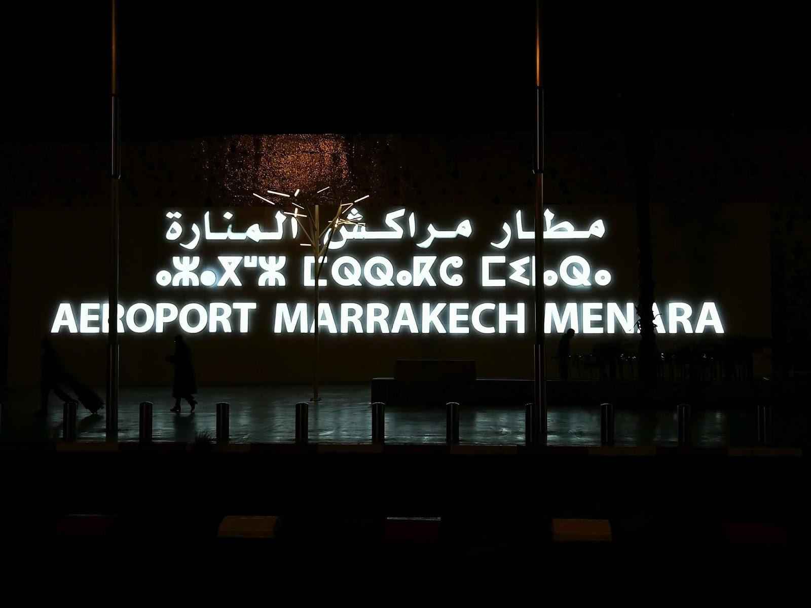 Intalnirea omului Marrakech.