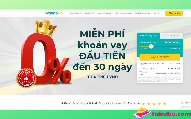 Tamo vn: hướng dẫn vay tamo - Đăng nhập tamo - cách thanh toán tamo cập nhật tháng 1/2021