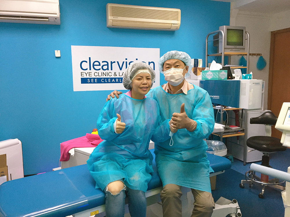 Crystal Phuong- Lasik eye surgery journey