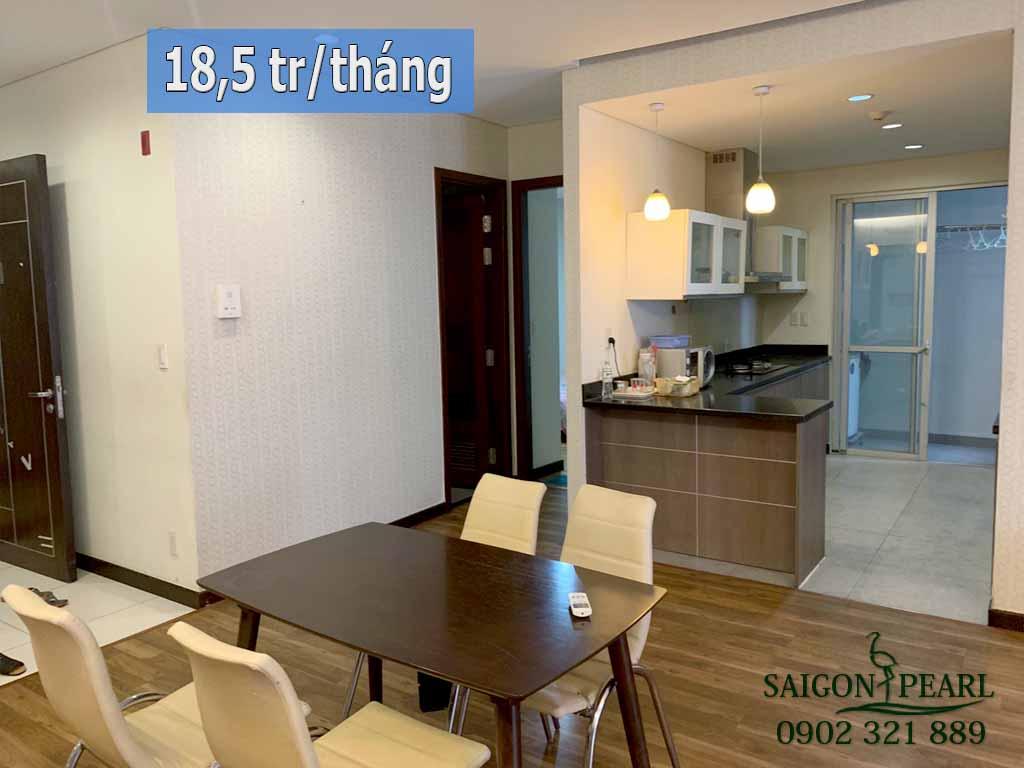 Căn hộ 5 sao Saigon Pearl cho thuê giá rẻ 116m2 - hình 1