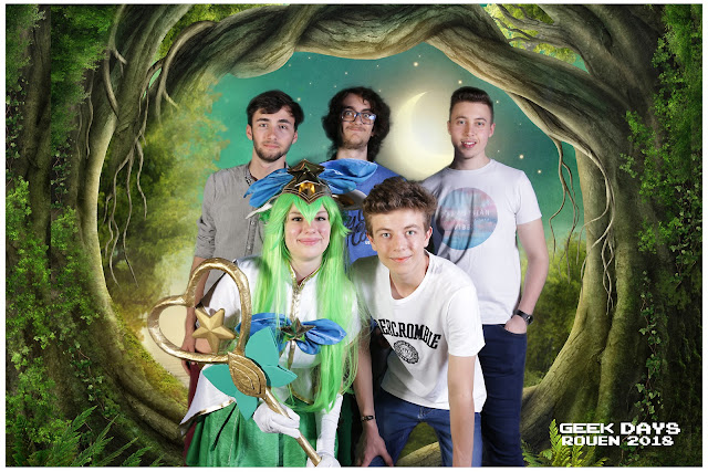 Geek Days de Rouen Photographe caen photo virtuelle animation
