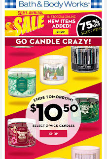 Bath & Body Works | Today's Email - January 4, 2020