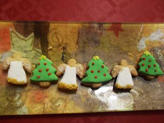 Receta de galletas Navideñas.