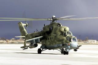 Helikopter Mi-24 Hind